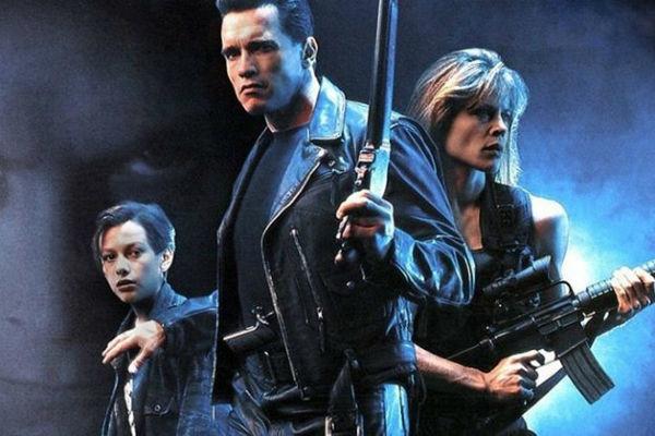 "60-year-old Linda Hamilton again plays Sarah Connor in the ""terminator"""