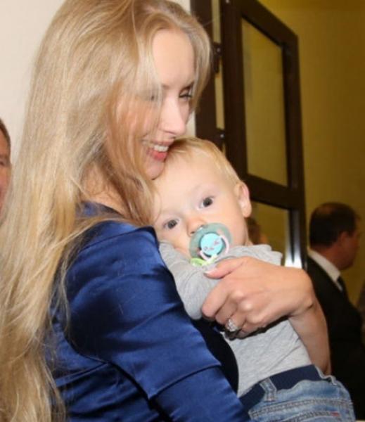 Супруга Александра Градского поделилась успехами наследника