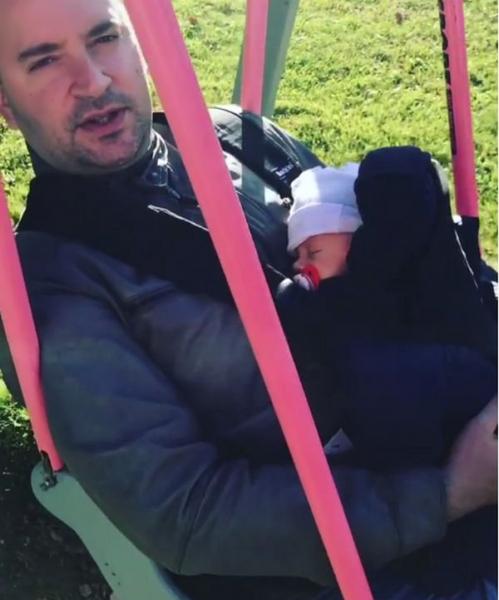 Леонид Закошанский впервые опубликовал снимок с сыном