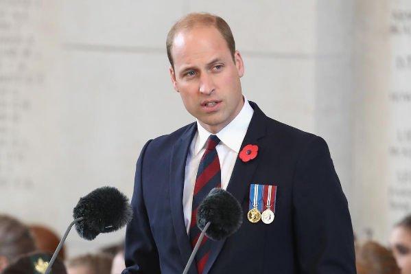 Принц Уильям поведал, как себя вел в первый учебный день сын