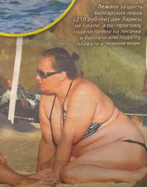 СМИ уверяют о значительном лишнем весе Ларисы Гузеевой
