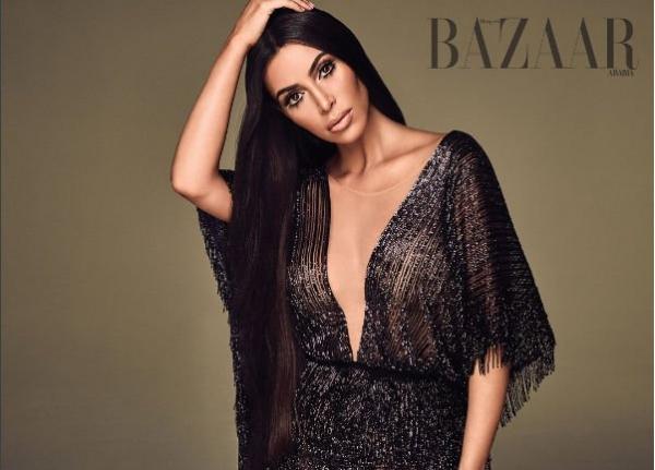Ким Кардашьян снялась в образе известной певицы
