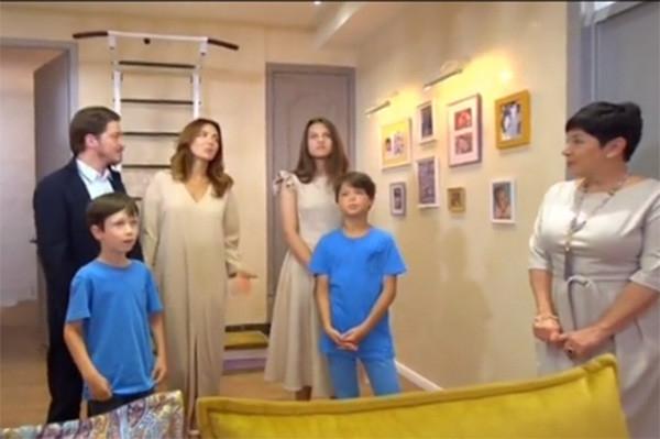 Екатерина Климова оборудовала детскую на чердаке многоэтажки