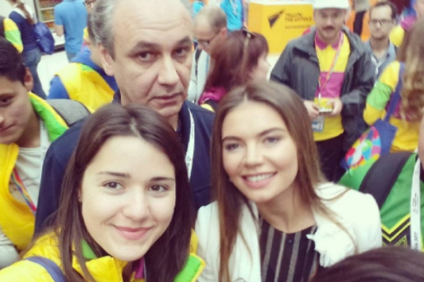 Алина Кабаева очаровала участников фестиваля в Сочи