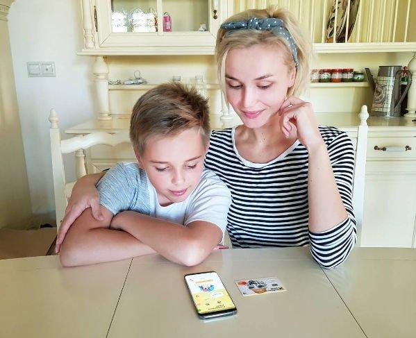 Полина Гагарина написала трогательное поздравление сыну на день рождения