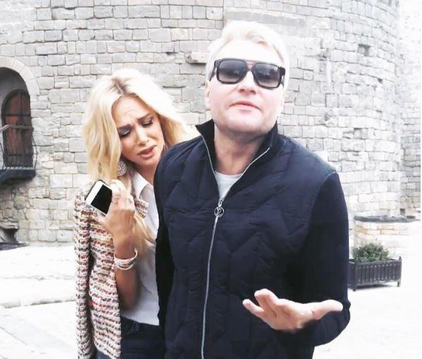 Николай Басков и Виктория Лопырева наслаждаются компанией друг друга в Баку