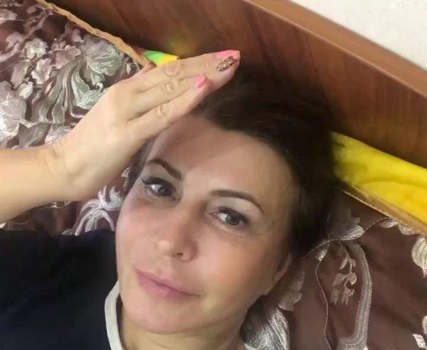 Ирина Агибалова старается вернуть былую стройность