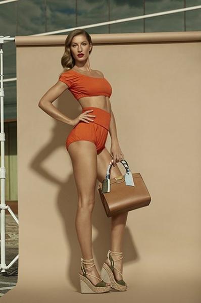 Жизель Бюндхен показала свои ножки во всей красе в новой фотосессии
