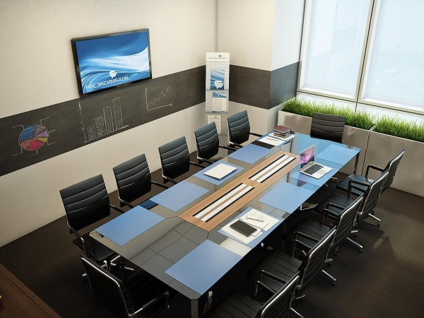 Каким должен быть современный офис? Пример АОРОСЭКСИМБАНК
