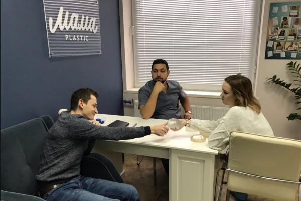Диана Шурыгина посетила консультацию хирурга перед пластикой груди