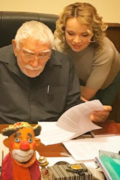 Виталина Цымбалюк-Романовская назвала поступок Джигарханяна предательством
