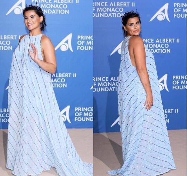 Располневшая Нелли Фуртадо прогадала с выбором платья