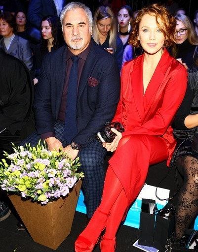 Валерий Меладзе и Альбина Джанабаева произвели фурор на Неделе моды