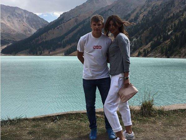 Супруга Андрея Аршавина сообщила о своем решение касательно расставания с мужем