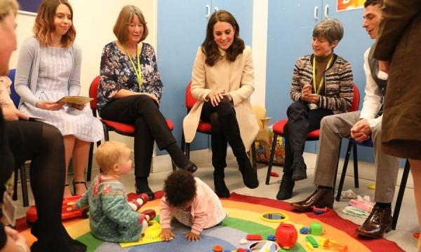 Беременная Кейт Миддлтон рассказала о реакции принца Уильяма на рождение первого ребенка