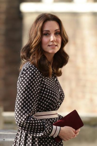 Беременная Кейт Миддлтон посетила музей в Лондоне