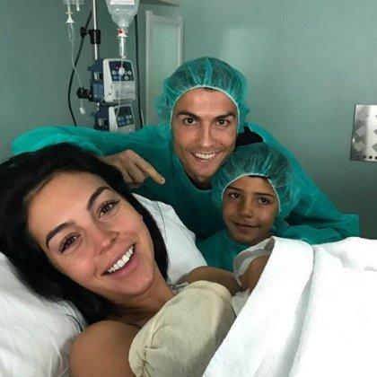 В сети появилось фото из клиники, где родился четвертый ребенок Криштиану Роналду