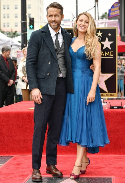 Райан Рейнольдс пошутил по поводу неузнаваемого образа своей супруги Блейк Лайвли для новой роли