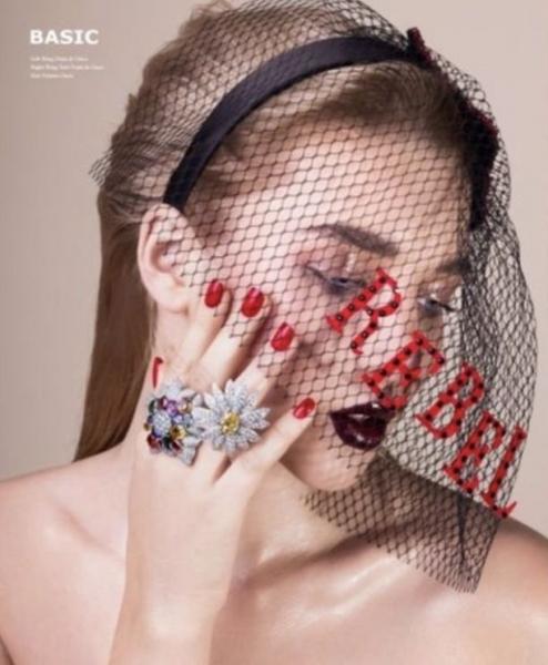 Анастасия Михайлюта представила нову коллекцию ювелирных украшений Dior