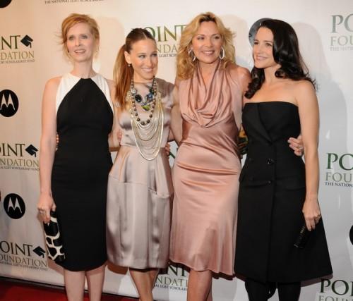 Сара Джессика Паркер и Синтия Никсон остались друзьями, несмотря на скандал