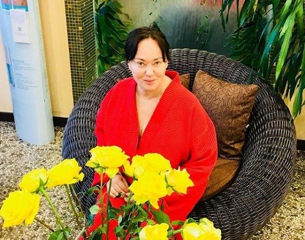 Лариса Гузеева опубликовала снимок без косметики и предварительной обработки