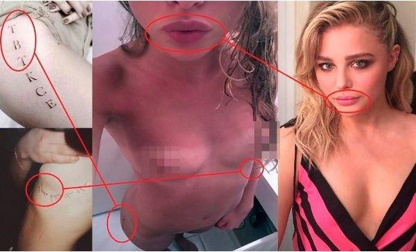 Злоумышленники разместили голые снимки Хлои Морец