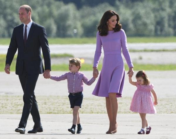 Принц Уильям «пожаловался» на своих детей