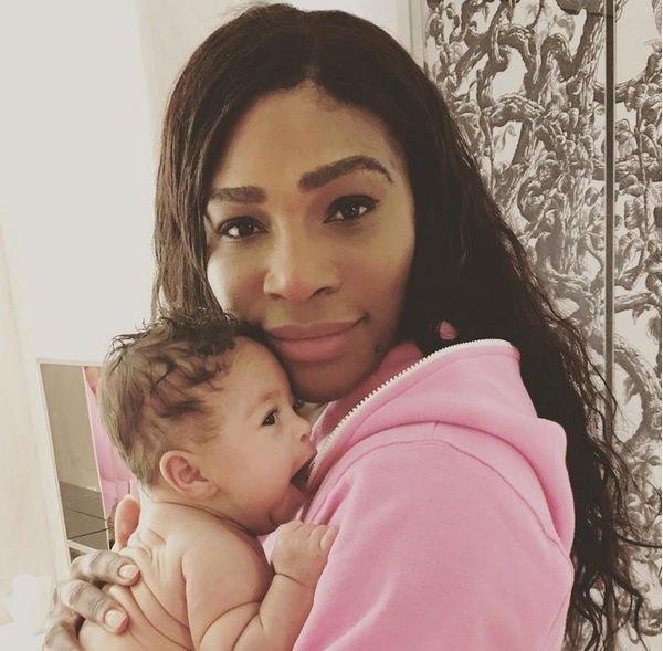 Серена Уильямс зарегистрировала отношения с отцом своей дочери