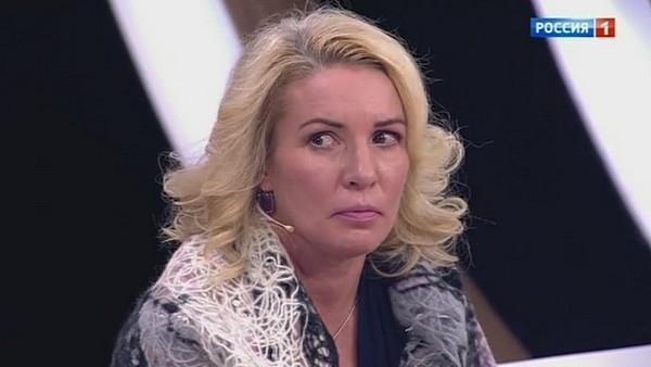 Ирина Лобачева напала на вдову Дмитрия Марьянова в эфире телешоу