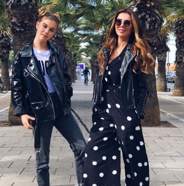 Анна Седокова опубликовала совместное фото со старшей дочерью