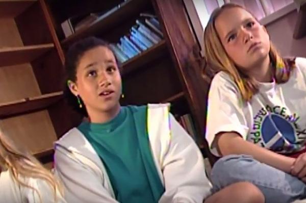 В сети появилось фото Меган Маркл в 11-летнем возрасте