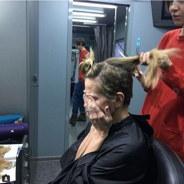 Юлия Высоцкая продемонстрировала, как стала лысой