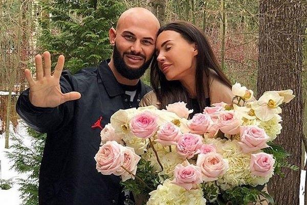 Джиган и Оксана Самойлова поздравили друг друга с памятной датой