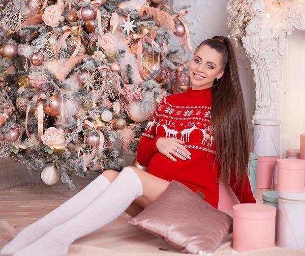 Беременная Ольга Рапунцель решила простить супруга