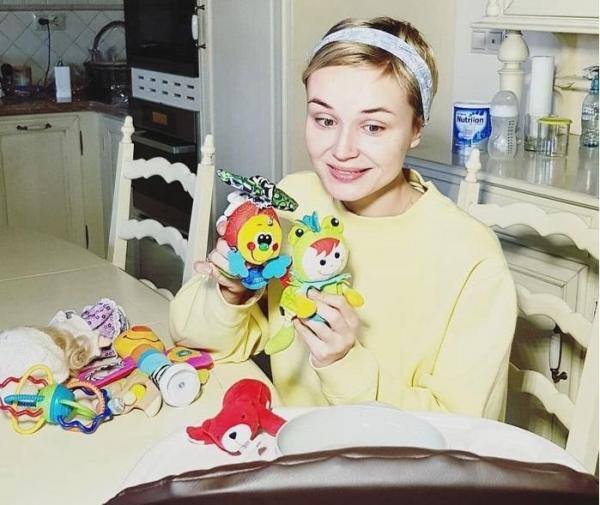 Дочка Полины Гагариной произнесла первое слово на радость родителям