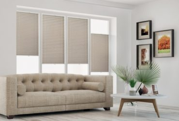 Pleated blinds — a fad in interior design