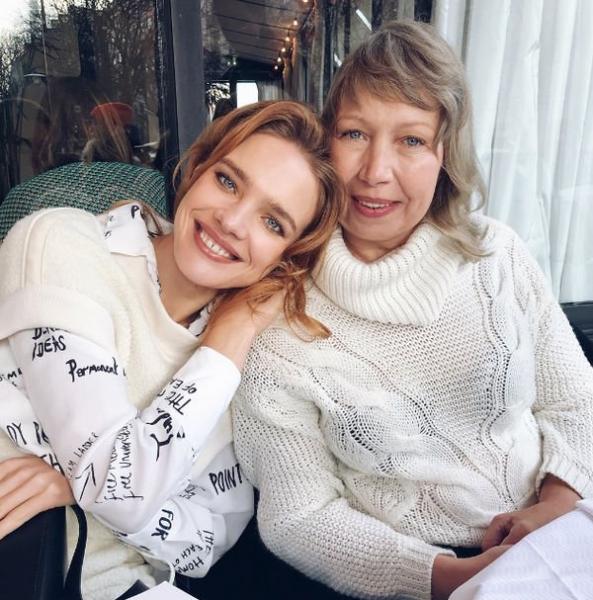 Наталья Водянова поделилась совместными фотографиями с мамой