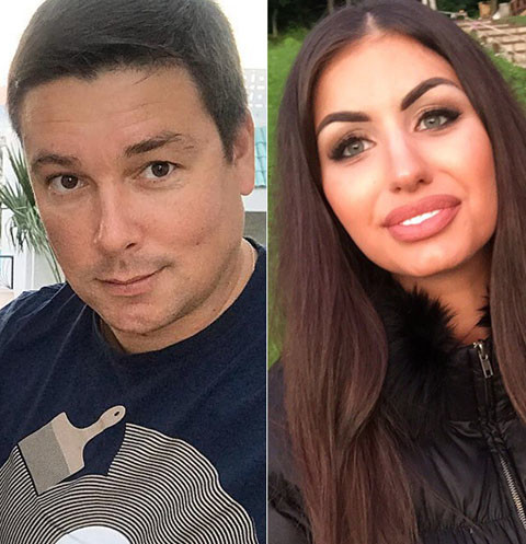 Экс-возлюбленная Андрея Чуева устроила ему скандал на глазах у жены
