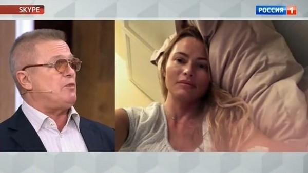 Родители Даны Борисовой сцепились в телешоу