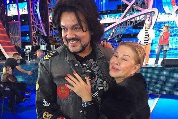 Филипп Киркоров прокомментировал свой конфликт с Любовь Успенской