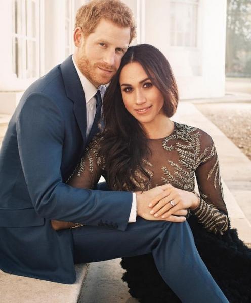 Милое фото принца Гарри и Меган Маркл вызвало фурор в Сети