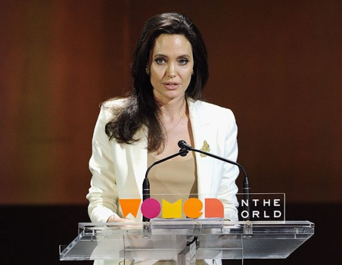 Анджелина Джоли призвала НАТО принять участие в борьбе за равноправие полов