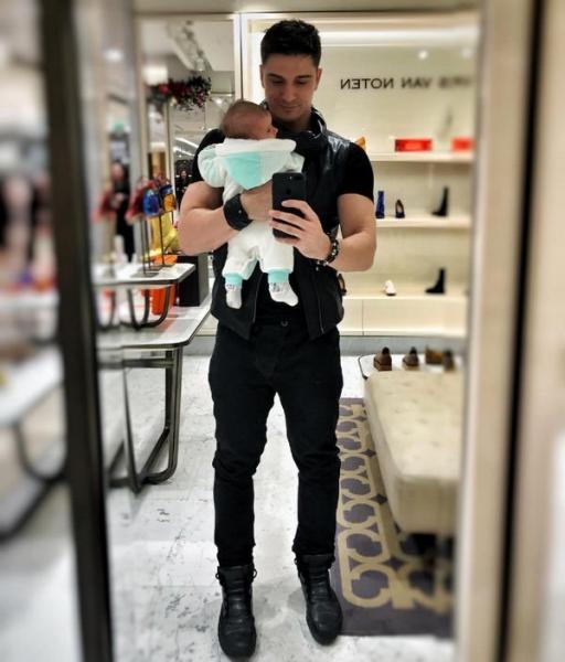Станислав Бондаренко впервые решился показать лицо новорожденной дочки