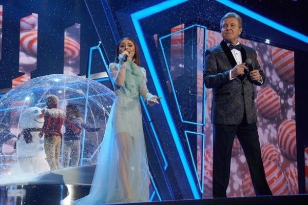 Диана Ди и Alekseev появились вместе на записи новогодней программы