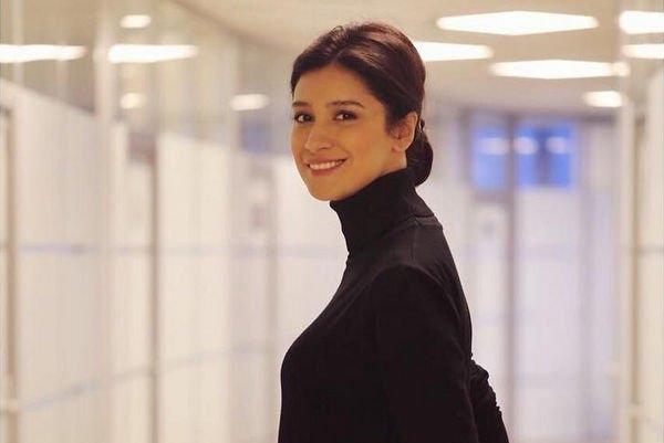 Равшана Куркова появилась в эфире Первого канала в качестве ведущей