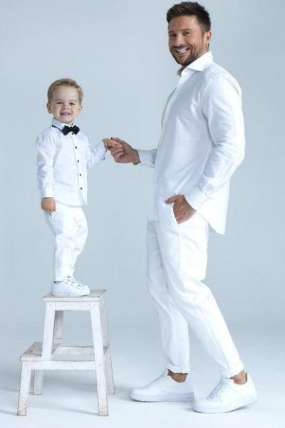Сергей Лазарев впервые показал своего ребенка