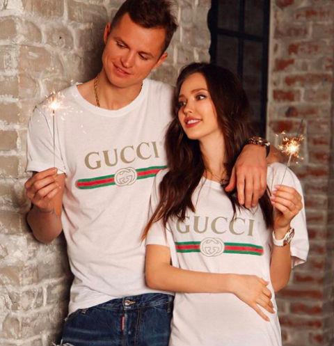 Невеста Дмитрия Тарасова спровоцировала разговоры о беременности