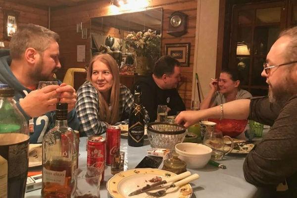 Голубкина и Ливанов проводят вместе романтические вечера