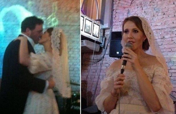 Ксения Собчак опубликовала редкие снимки со своей свадьбы