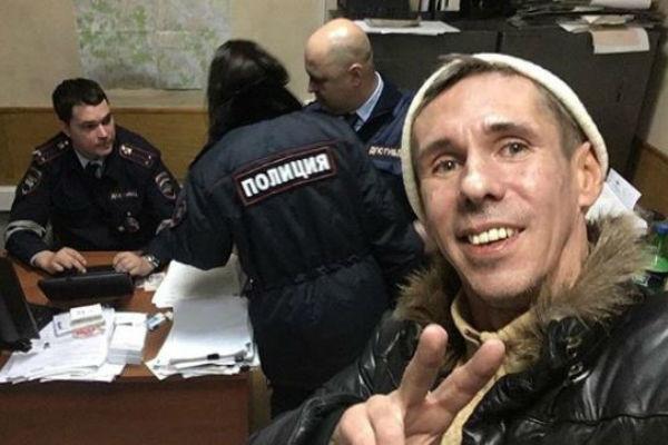 Сотрудники ГИБДД задержали Алексея Панина